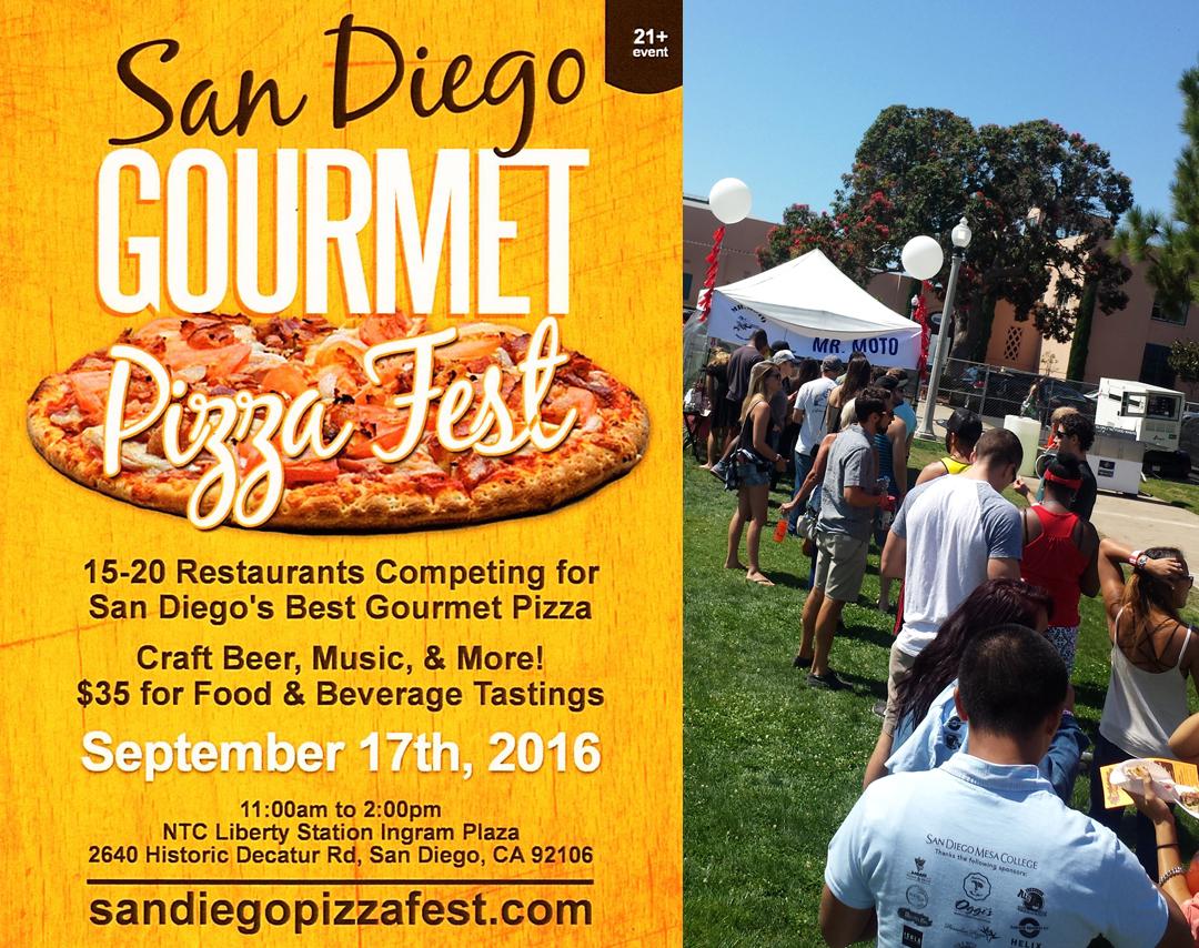 Mr Moto Pizza House San Diego Gourmet Pizza Fest winenrs 5